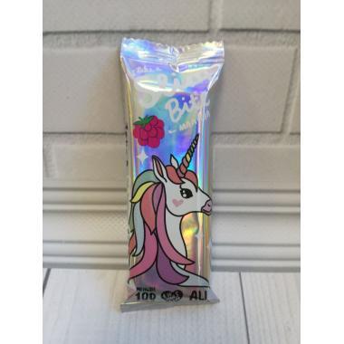 """Батончик фруктово-ягодный Bite Slim Unicorn """"Малина"""" 30 гр"""
