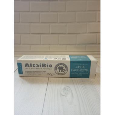 "AltaiBio Зубная паста №2 ""Липа-календула"" ,54*100г"