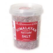 Пищевая гималайская красная соль HPCSalt 482гр(17oz)(крупный помол,2-5мм)
