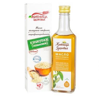 Масло из семян белого кунжута (сезамовое) 0,25л