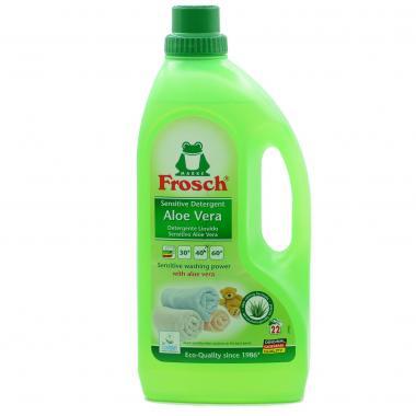 Концентрированное жидкое средство для стирки Frosch (Фрош) Алое Вера 1,5 л