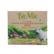 """Эколог.стир.порошок д/цветного белья с экстр.хлопка.Концентрат.Без запаха/1,500гр """"BioMio"""""""