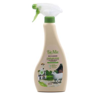 """Экологичный чистящий спрей для кухни. Лемонграсс/500мл """"BioMio"""""""
