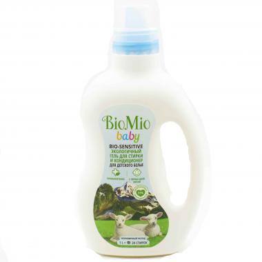 """Экологичный гель для стирки деликатных тканей. Без запаха/1.500мл """"BioMio"""""""