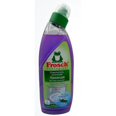 Очиститель унитазов Лаванда Frosch (Фрош) 750мл