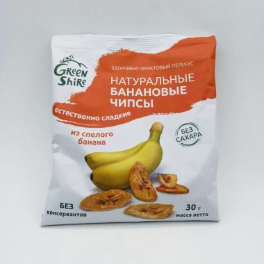 Чипсы банановые естественно сладкие, 30г.
