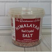 Пищевая гималайская красная соль HPCSalt 284гр(10oz)(средний помол,1-2мм)