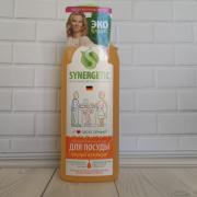 Synergetic средство биоразлагаемое для мытья посуды,детских игрушек с ароматом апельсина 1л