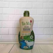 Bio-Care Экологич.ср-во д/мытья посуды(в т.ч. детской),овощей и фруктов.С эфирн.маслом мандарина,экстр.хлопка и ионами серебра.Концентрат/450мл(BioMio)