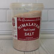 Пищевая гималайская красная соль HPCSalt 482 гр (17oz)(мелкий помол,0,7-1мм)