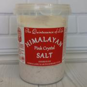 Пищевая гималайская розовая соль HPCSalt 482гр(17oz)(мелкий помол, 0,7-1мм)