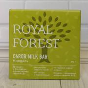 Royal forest carob milk bar(миндаль) 75гр