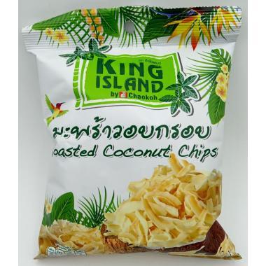 Кокосовые чипсы King Island без добавок 40 гр