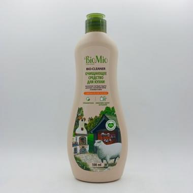 """Экологич. чистящее средство для кухни. Апельсин/500мл """"BioMio"""""""