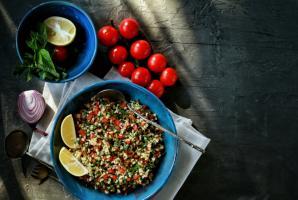 Табуле - сытная восточная закуска