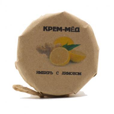 Крем-мед имбирь с лимоном 150 гр
